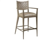 Milo Leather Barstool -