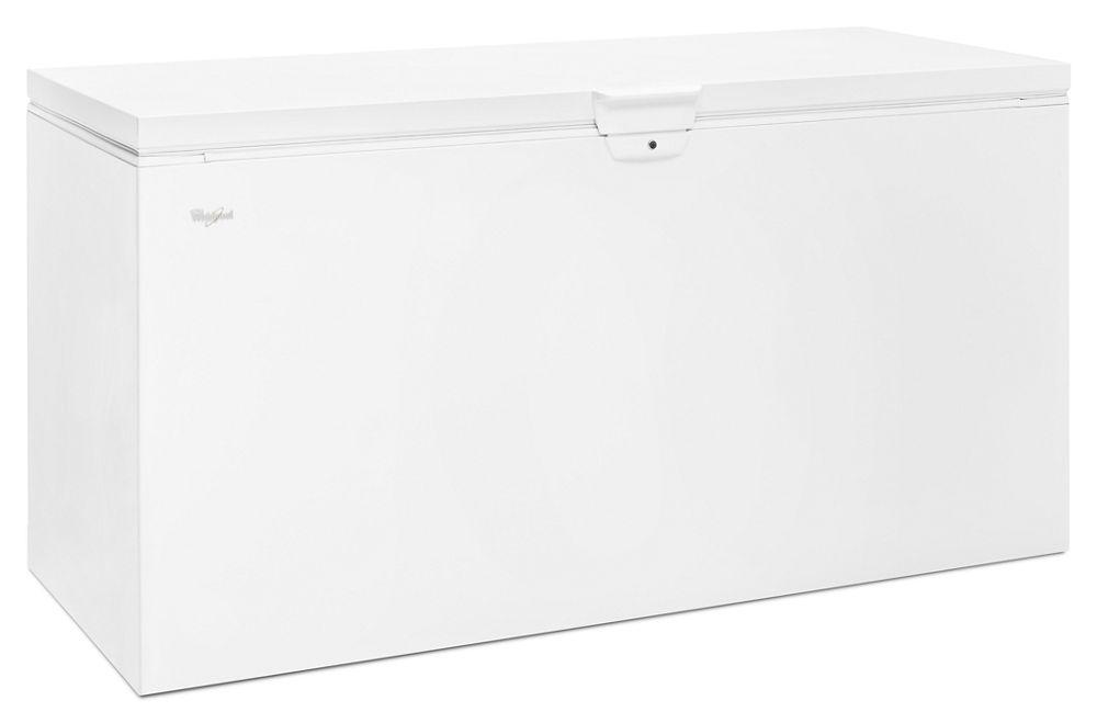 Wzc3122dw Whirlpool 22 Cu Ft Chest Freezer With Extra
