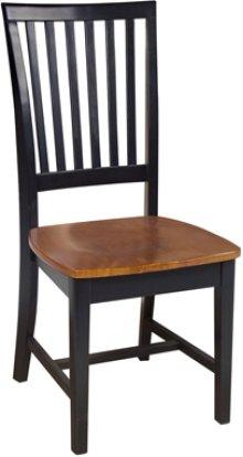 Mission Chair Cherry & Black