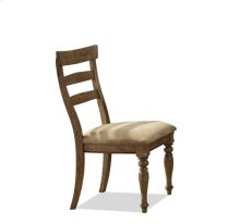 Regan X-Back Side Chair Weathered Driftwood finish