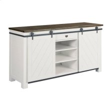 Junction Shiplap Sliding Door Media Console