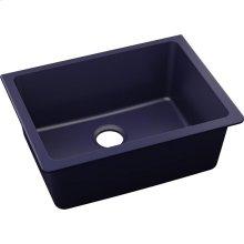 """Elkay Quartz Luxe 24-5/8"""" x 18-1/2"""" x 9-1/2"""", Single Bowl Undermount Sink, Jubilee"""