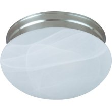 Essentials 2-Light Flush Mount