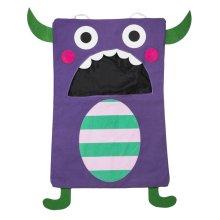 Purple Monster Laundry Bag