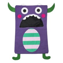 Purple Monster Laundry Bag