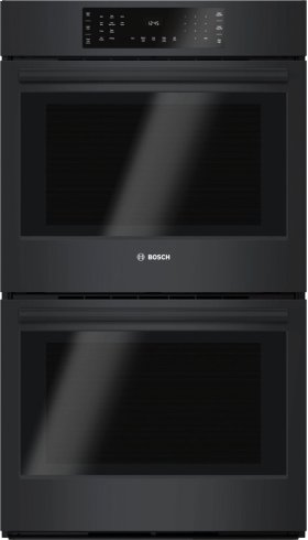 """800 Series, 30"""", Double Wall Oven, BL, EU conv./Thermal, Touch Control"""
