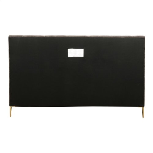 King Size Rennie Upholstered Bed