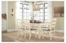 April O'Neil Dining Room Table Set (7/CN)