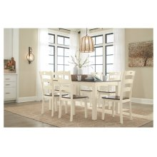 April O'Neil Dining Room Table Set (7/CN)