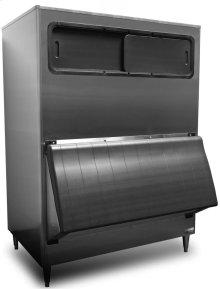 "48"" W High Capacity Ice Storage Bin - Stainless Steel Exterior"