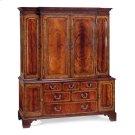 Large Mahogany TV Cabinet Product Image