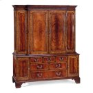 Large Mahogany TV Cabinet Product Image
