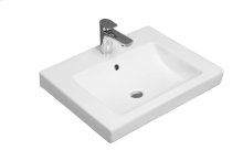Drop-in washbasin Angular - White Alpin