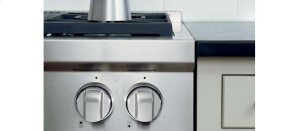 Sealed Burner Rangetop Stainless Steel Knobs