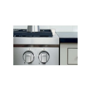 WolfSealed Burner Rangetop Stainless Steel Knobs