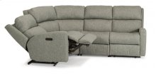 Catalina Fabric Power Reclining Sectional with Power Headrests