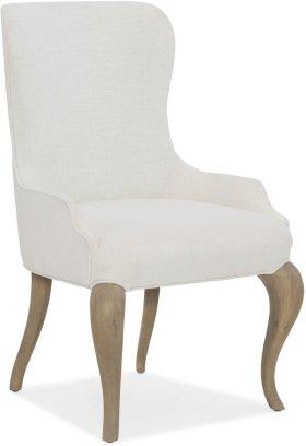 Modern Romance Upholstered Arm Chair