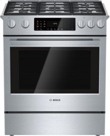 800 Series, Dual-Fuel Slide-In Range US