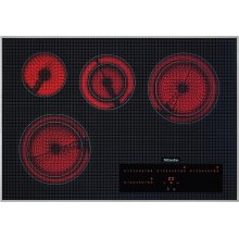 KM 5840 208V Electric cooktop with direct selection plus including timer for maximum user convenience.
