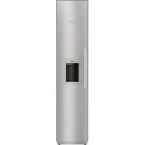 MieleMasterCool™ freezer Integrated IceMaker features separate water and ice dispensers.