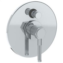 """Wall Mounted Pressure Balance Shower Trim With Diverter, 7"""" Dia."""