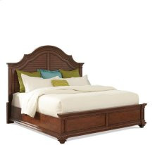 Windward Bay Arch Bed Warm Rum finish