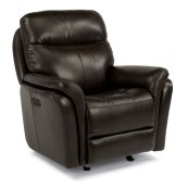 Zoey Leather Power Gliding Recliner
