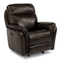 Zoey Leather Power Gliding Recliner with Power Headrest Product Image