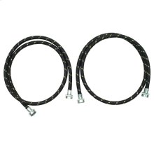 5' NYLON BRAID WASHER FILL HOSE KIT
