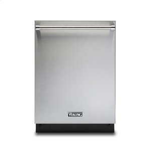 "Viking24"" Dishwasher w/Water Softener and Installed Professional Stainless Steel Panel"