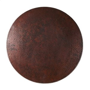 """20"""" Copper Lazy Susan Turntable Product Image"""
