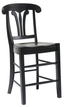 "St. Michael 24"" Napolean Style Barstool"