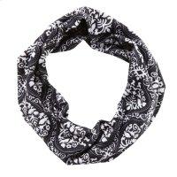 Black & White Damask Stretch Headband. Product Image