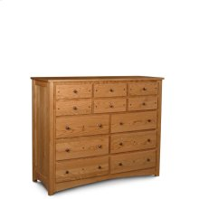 Royal Mission 12-Drawer Bureau, Medium