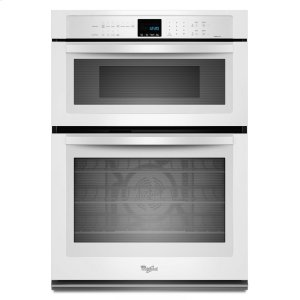 Gold(R) 5.0 cu. ft. Combination Microwave Wall Oven with True Convection Cooking - WHITE