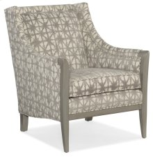 Living Room Camelia Exposed Wood Chair
