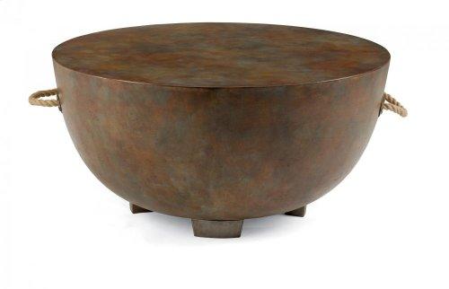 Raku Round Coffee Table