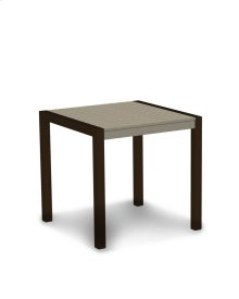 "Textured Bronze & Sand MOD 30"" Dining Table"