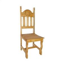 Wood Seat Star Chair