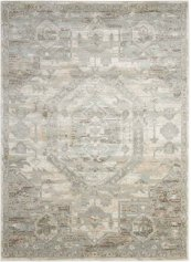 Euphoria Eup02 Ivory Rectangle Rug 5'3'' X 7'3''
