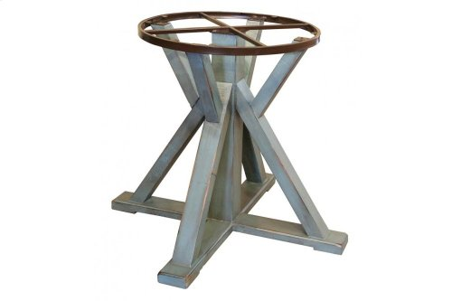 """51"""" Round Dining Table Top w/Iron skirt"""