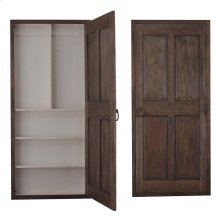 Edinburgh Narrow Wine Door Cabinet Left Opening