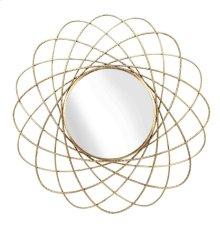 Gold Orbits Metal Mirror, Wb