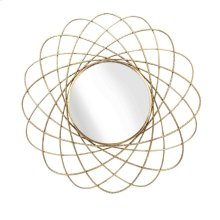 Gold Orbits Metal Mirror, Wb
