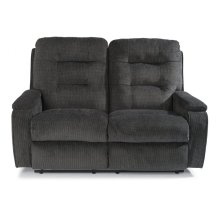 Kerrie Fabric Reclining Loveseat
