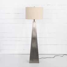 Pewter Finish Leander Floor Lamp