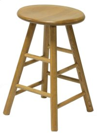 "24"" Swivel Saddle Barstool Product Image"