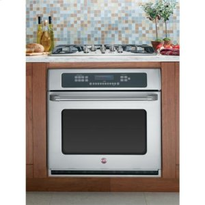 """CafeSeries 30"""" Built-In Single Convection Wall Oven"""