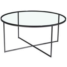 Misty Round Cocktail Table