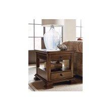 Portolone Rectangular End Table W/drawer